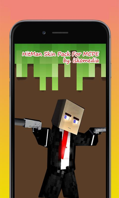 Skins Hitman For Minecraft For Android APK Download - Skin para minecraft pe hitman