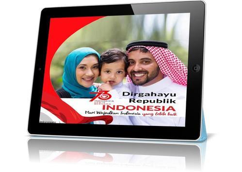 Bingkai Foto Kemerdekaan Indonesia 2018 screenshot 3