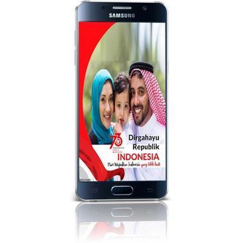 Bingkai Foto Kemerdekaan Indonesia 2018 poster