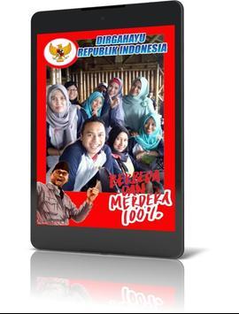 Bingkai Foto Kemerdekaan Indonesia 2018 screenshot 6