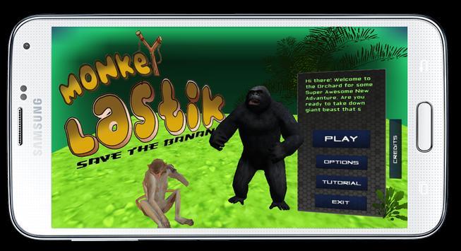 Monkey Lastik poster