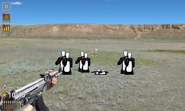 Kalashnikov assault rifle screenshot 1