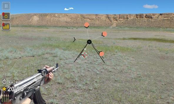 Kalashnikov assault rifle screenshot 3