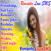 English Romantic Love SMS Collection icon