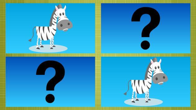 Animal Cards (Memory Game) apk screenshot