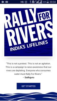 Rally for Rivers poster