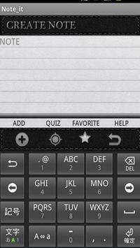 Note It apk screenshot