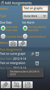 Time Table (時間割) apk screenshot