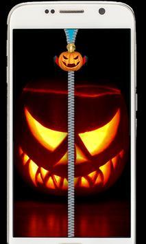 Halloween Zipper Lockscreen 2018 poster