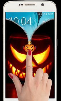 Halloween Zipper Lockscreen 2018 apk screenshot
