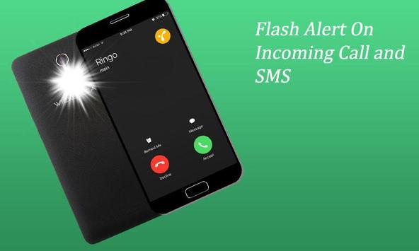 Flash Blinking on Call and SMS screenshot 2