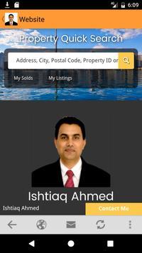 Ishtiaq Ahmed Toronto Realtor apk screenshot