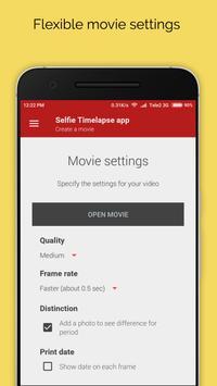Selfie Timelapse App apk screenshot