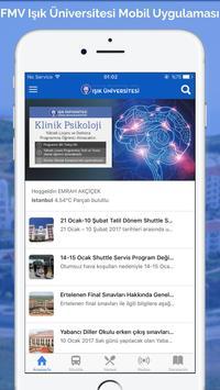 FMV Işık Üniversitesi Mobil Affiche