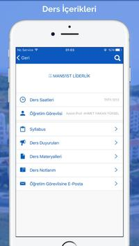 FMV Işık Üniversitesi Mobil capture d'écran 2