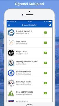 FMV Işık Üniversitesi Mobil capture d'écran 3