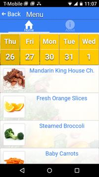 Web Menus for School Nutrition apk screenshot