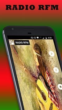 RFM radio portugal poster