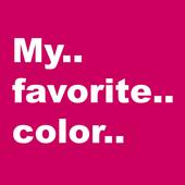My Favorite Color - Play Super gametime Quiz icon