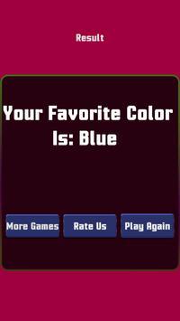 My Favorite Color - Play Super gametime Quiz screenshot 4