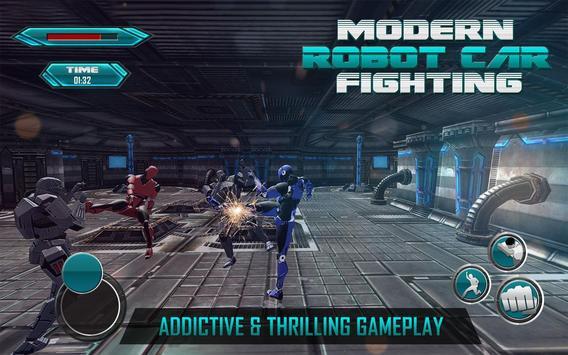 Futuristic Car robot war 2017 screenshot 1