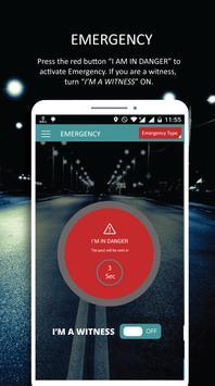 iSOSu™: Personal Emergency App apk screenshot