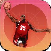 Basketball Shooting street icon