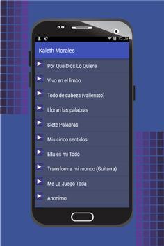 Kaleth Morales apk screenshot