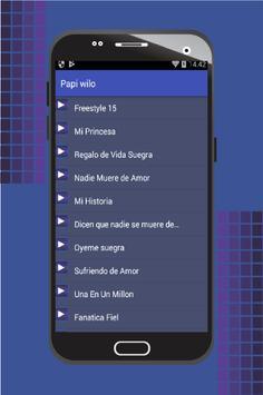 Musica De Papi Wilo apk screenshot