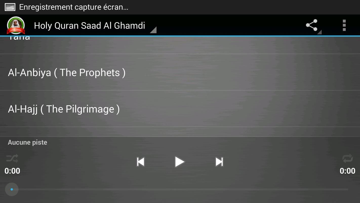 Holy quran saad al-ghamdi for (android) free download on mobomarket.