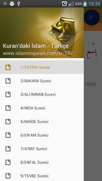 Kuran'daki İslam - Türkiye poster