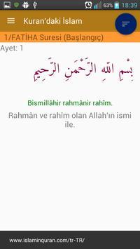 Kuran'daki İslam - Türkiye apk screenshot