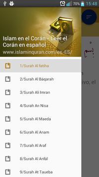 Islam en el Corán en español poster