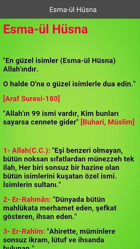 Islami Bilgiler Für Android Apk Herunterladen