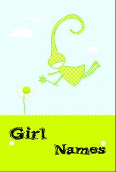 Baby Girl Names Muslim poster