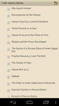 1100+ Islamic Stories apk screenshot