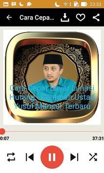 Ceramah Ustad Yusuf Mansyur screenshot 12