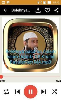 Ceramah Ustad Khalid Basalamah screenshot 1