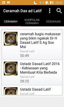 Ceramah Lucu Das ad Latif poster