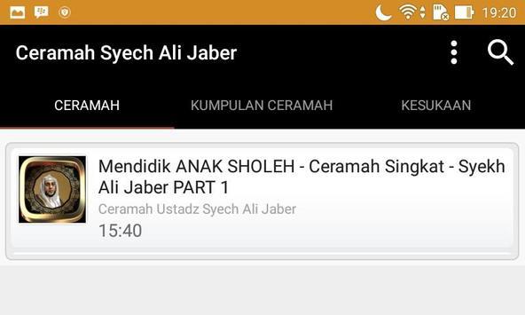 Ceramah Ustad Syekh Ali Jaber screenshot 11