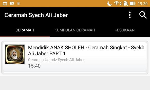 Ceramah Ustad Syekh Ali Jaber screenshot 3