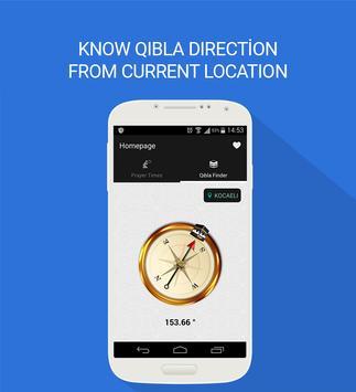 Qibla Finder & Prayer Times apk screenshot