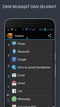 ZIKIR MUNAJAT & SELAWAT apk screenshot
