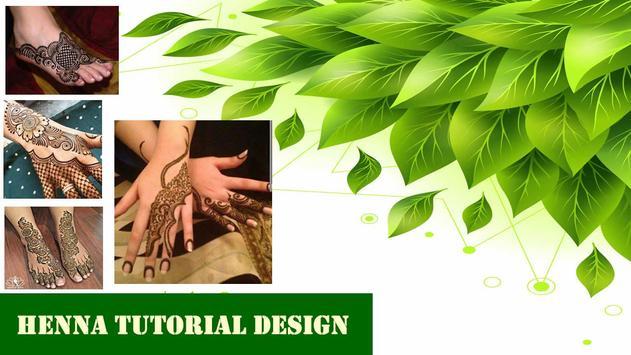 Henna Tutorial Design Ideas poster