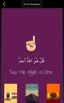 Islamic Quotes Ayat Wallpapers Apk Screenshot