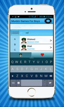 Muslim Names for Boys apk screenshot