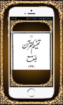 Surah Yaseen with Tafseer apk screenshot