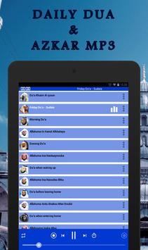 Daily Dua and Azkar mp3 screenshot 5