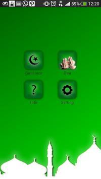 Biru Islamic Dua poster
