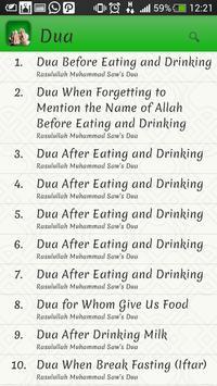Biru Islamic Dua apk screenshot